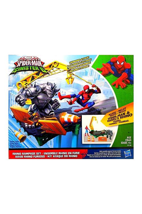 hasbro spiderman sinister 6 battle bridge