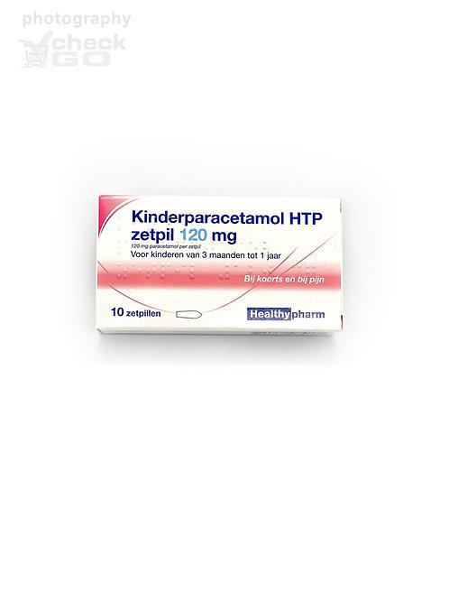 kinderparacetamol HTP zetpil 120 mg