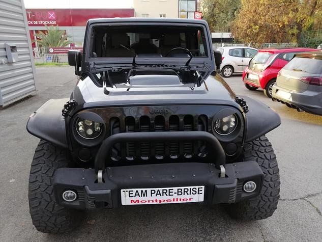 Pare brise Jeep Wrangler