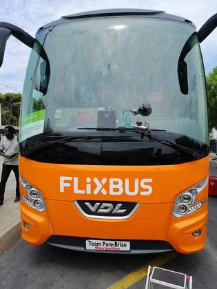Bus VDL réparation de pare brise