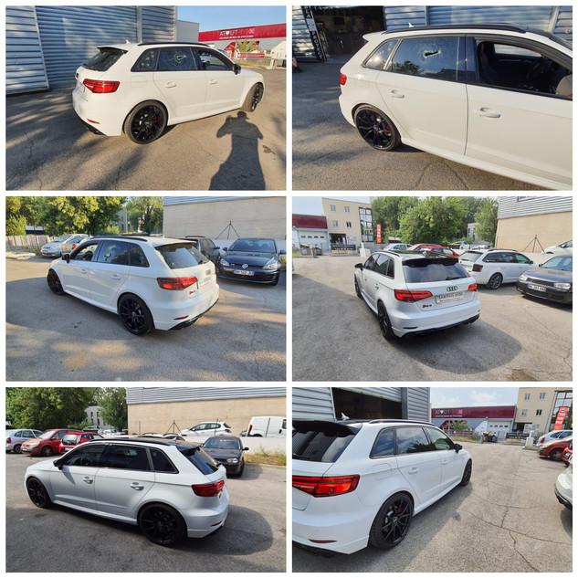 Remplacement 5 vitres Audi RS3