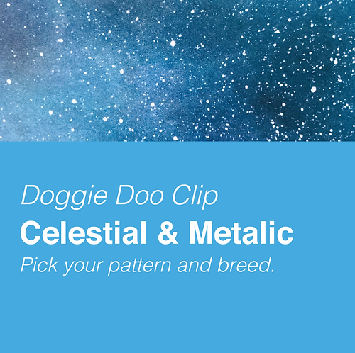 CELESTIAL AND METALIC PATTERNS
