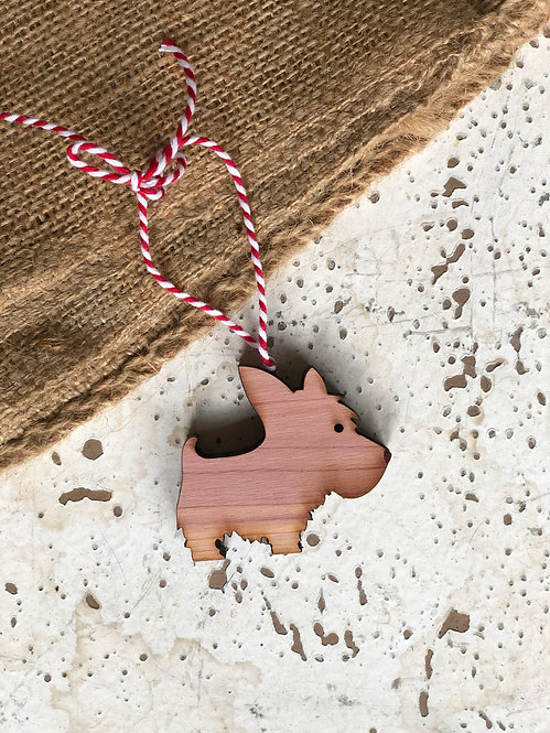 West Highland Terrier Dog Ornament