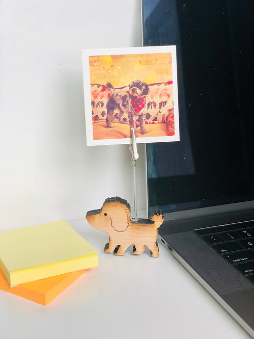 Photo and Memo Holder