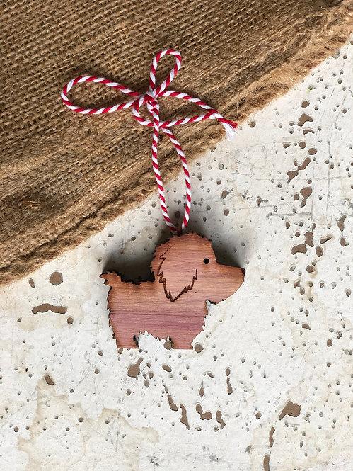 Cockapoo Dog Ornament