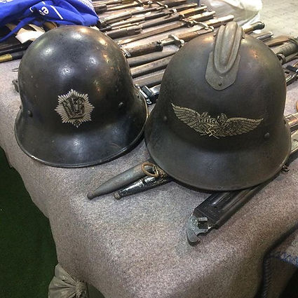 Forein helmets used by the Germans (Tjec