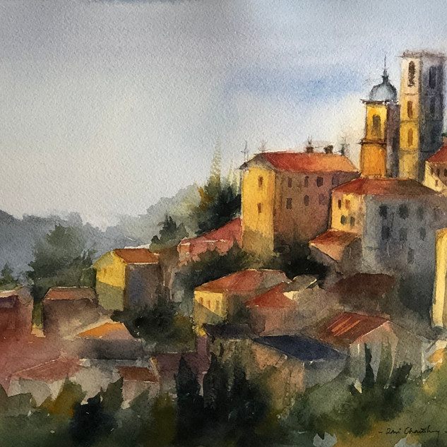 A Summer Day in Grasse, France