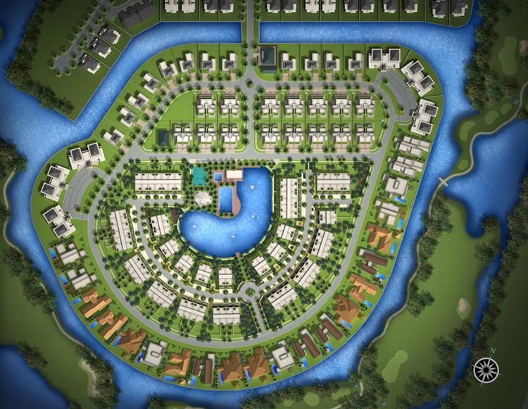 Lotus Garden site plan