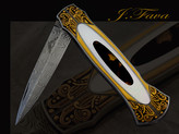 Finely Embellished Knives