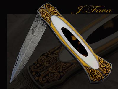 Finely Embellished Knives