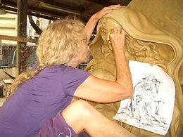 Los Altos_ CA Gate of Heaven Bronze Piet