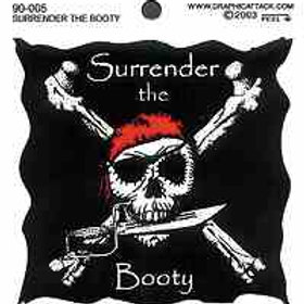 Surrender the Booty Sticker