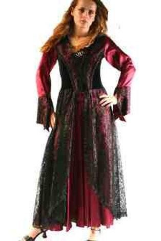 1076 Full Sleeve Long Dress