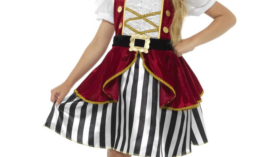 Red & Black Pirate Girl