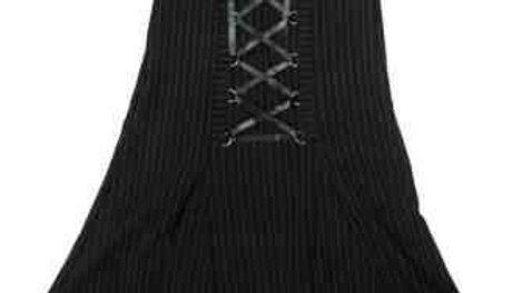1540 Pinstripe Skirt