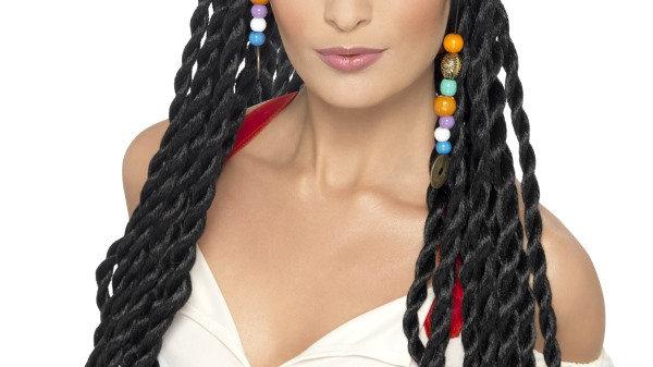 Ladies pirate wig