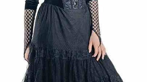 1538 Long Gothic Dress