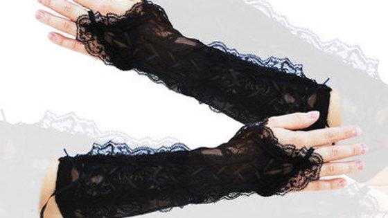 FX071 Black lace gloves