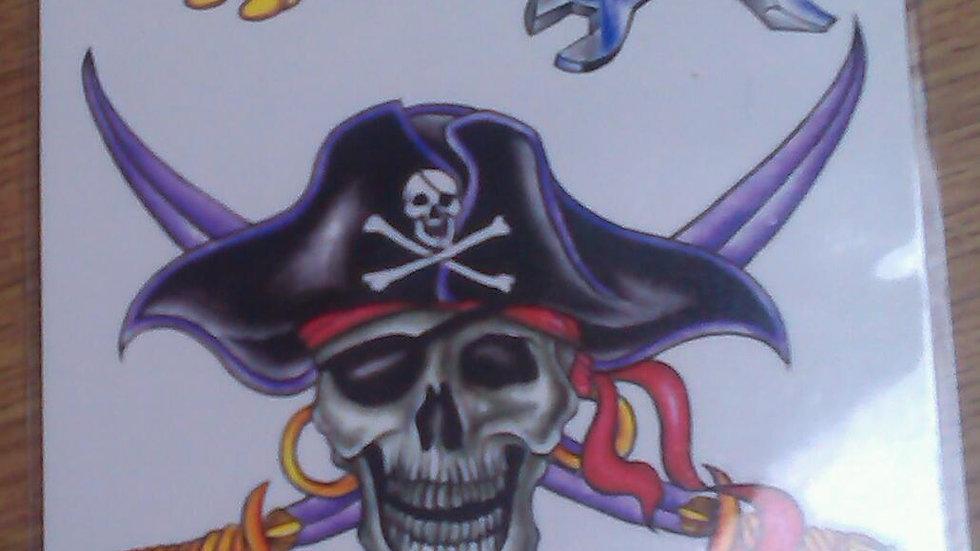 Tattoo sheet 3