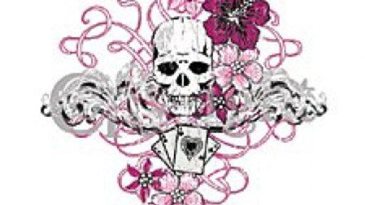 Skull & Cards (ladies)