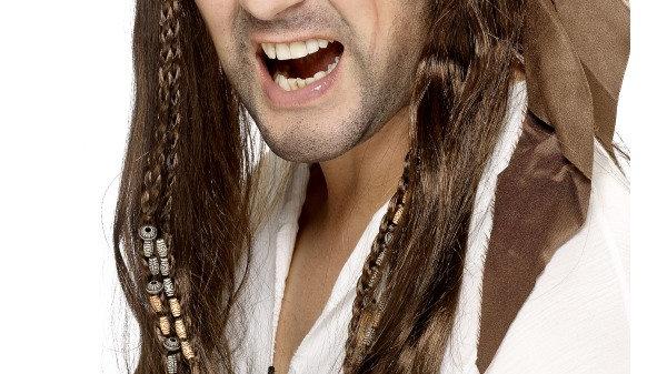 Buccaneer Brown wig