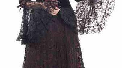 1545 Full Sleeves Long Dress