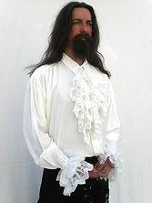 Male Pirate in a pirate shirt