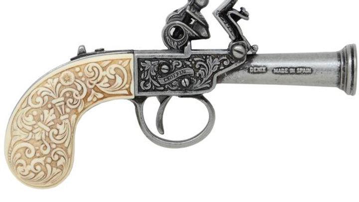 Flintlock Pocket Pistol - Ivory Handle 1798