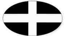 Cornish Decal (oval)