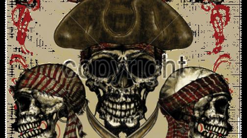 Pirate 3 Skulls