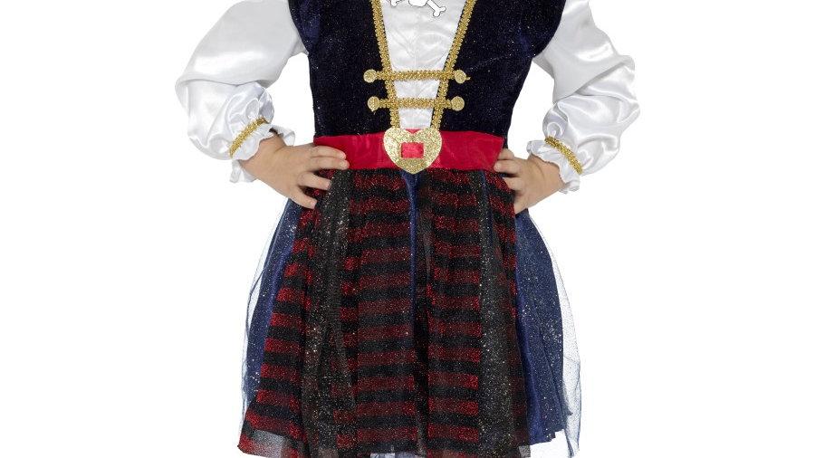 Glitter Pirate Girl