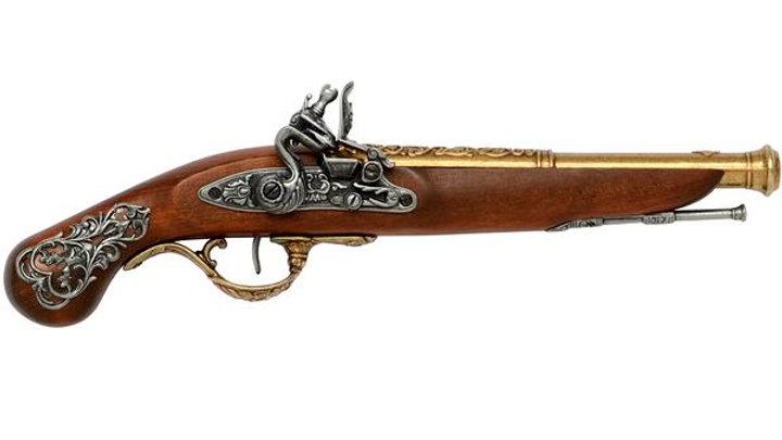 18th Century English flintlock pistol