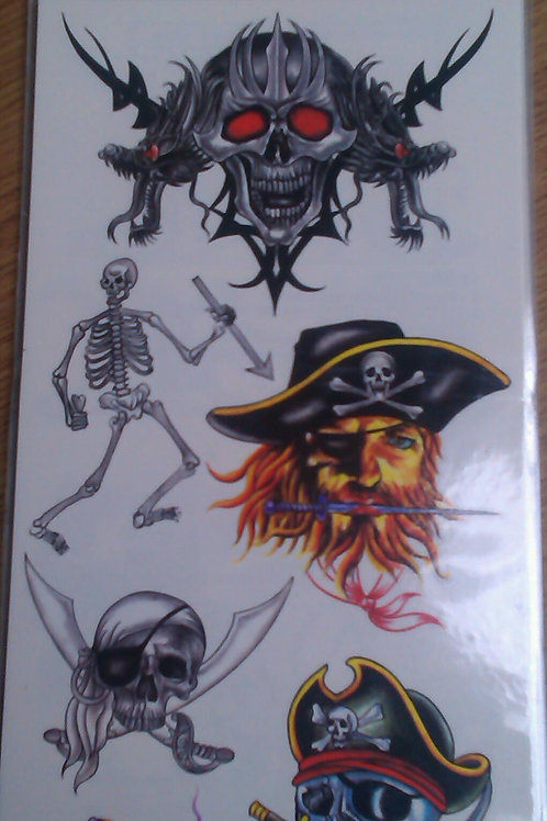 Tattoo sheet 5