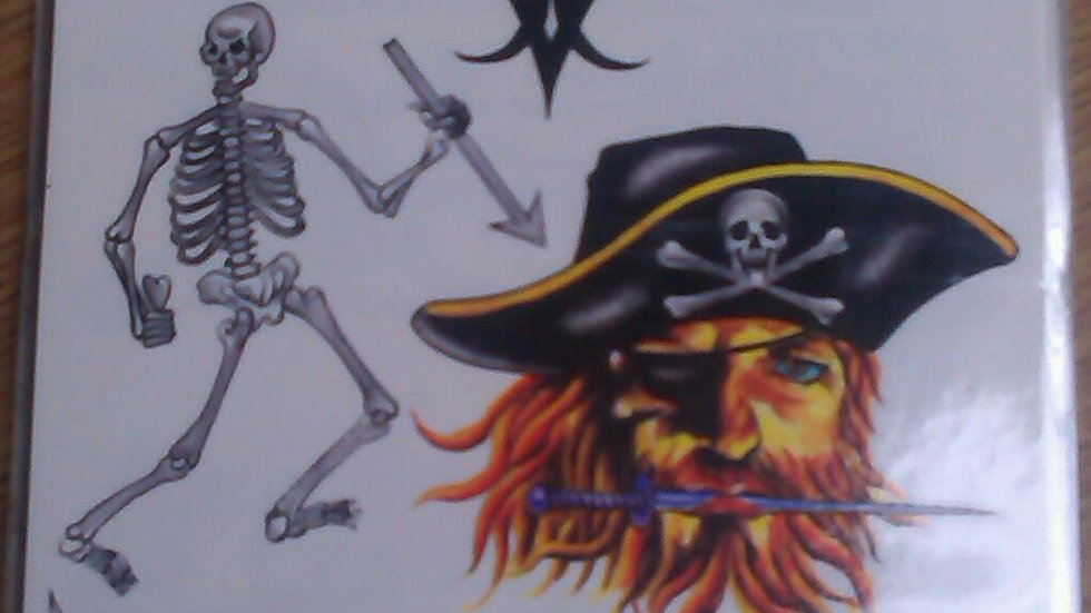 Tattoo sheet 5