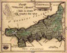 Olde mappe Kernow