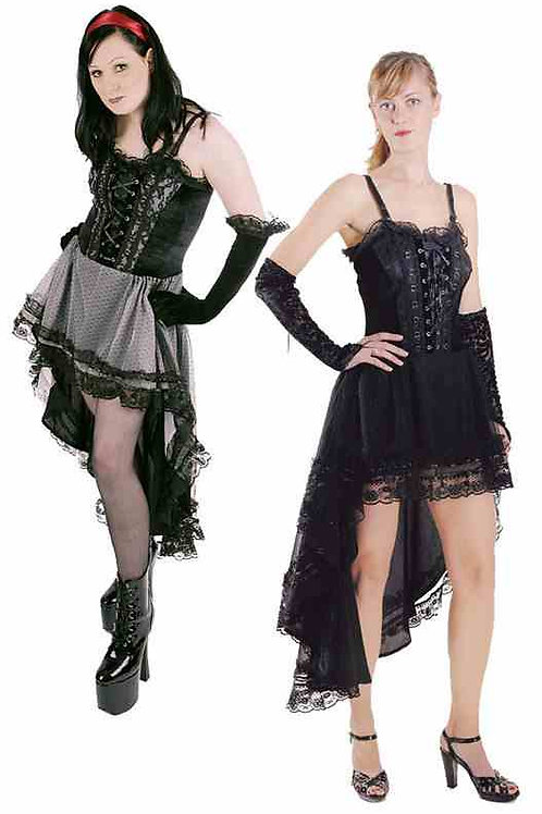 1536 Fishtail gothic dress