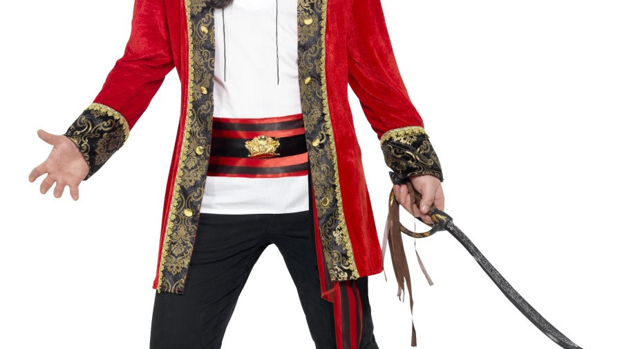 Curves Pirate Captain Costume