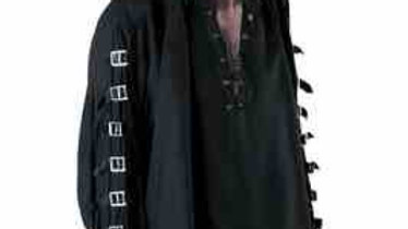 Search: 4830 Black Gothic Buckle Shirt