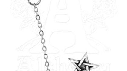 Pentagram Cuff Stud