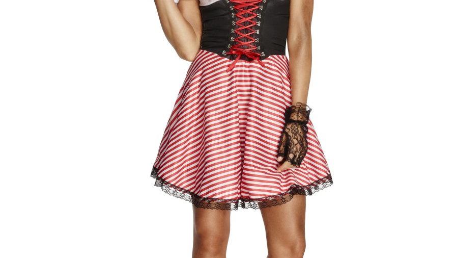 Fever pirate striped costume