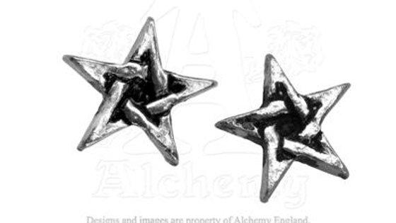 Pentagram Studs