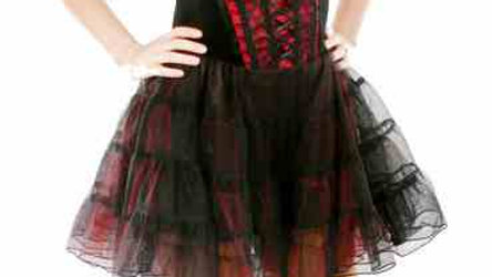 1418 Gothic Mini Dress