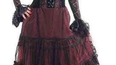 1544 Full Sleeves Long Dress