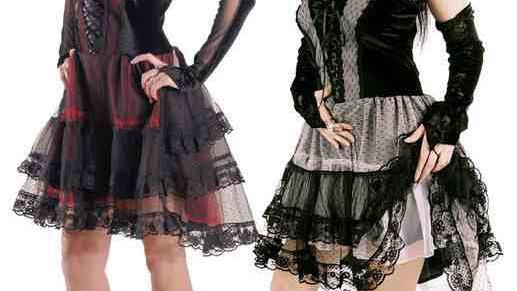 1528 Short Gothic Dress