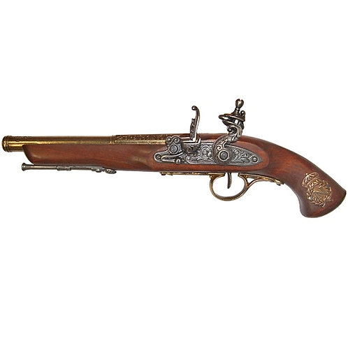 Flintlock Pistol France 18th Century (Left Handed)