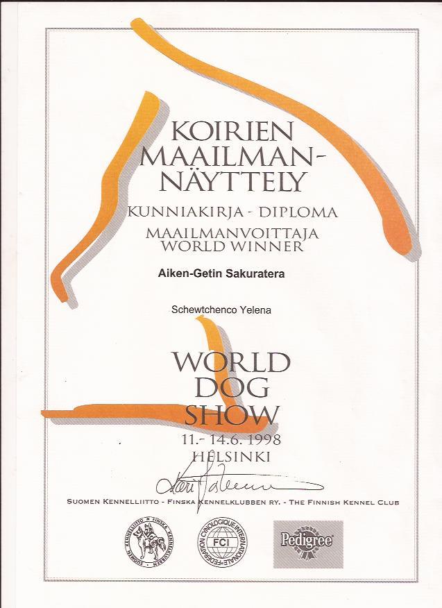 World Winner 1998