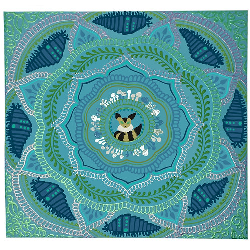 Nausicaa - Inspired 12x12 Original