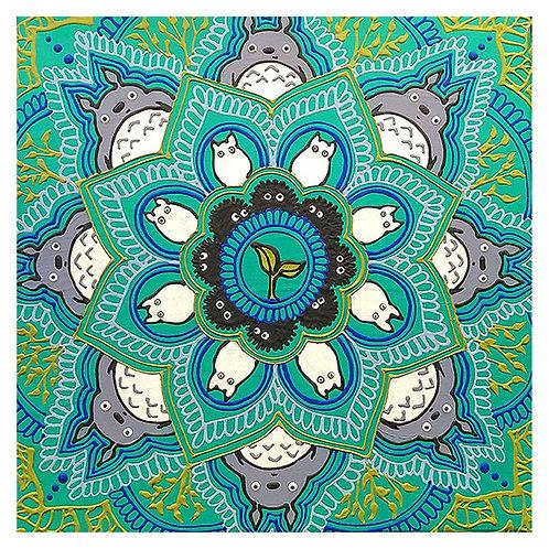 8x8 Print of Totoro OG