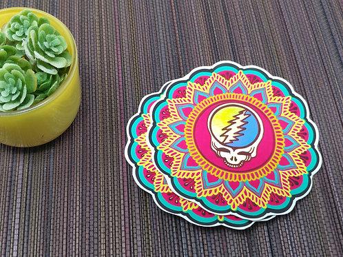 Grateful Dead Fandala Vinyl Sticker