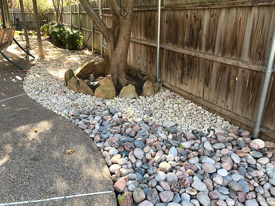 yard drainage and erosion control TX